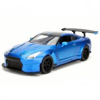 Imagem - Nissan: GT-R [R35] Ben Sopra - Velozes e Furiosos 6 - Azul - 1:24 - Jada