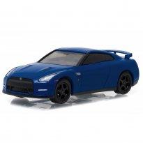 Imagem - Nissan: GT-R (R35) (2014) - Azul - GL Muscle - Série 17 - 1:64 - Greenlight