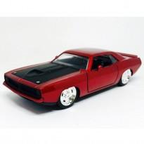 Imagem - Plymouth: Barracuda (1970) - Vermelho - Bigtime Muscle - 1:32 - Jada
