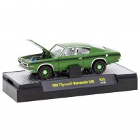 Imagem - Plymouth: Barracuda 340 (1969) - Detroit Muscle - Verde - 1:64 - M2 Machines