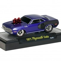 Imagem - Plymouth: Cuda (1971) - Ground Pounders - 1:64 - M2 Machines