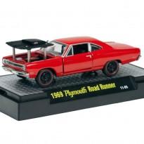 Imagem - Plymouth: Road Runner (1969) Detroit-Cruisers - Vermelho - 1:64 - M2 Machines