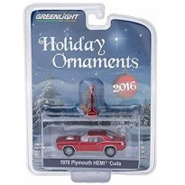 Imagem - Plymouth: Hemi Cuda (1970) - Holiday Ornaments - Série 1 - 1:64 - Greenlight