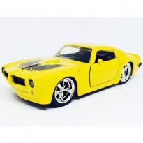 Imagem - Pontiac: Firebird (1972) - Amarelo - Bigtime Muscle - 1:32 - Jada