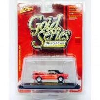 Imagem - Pontiac: Firebird 400 (1967) - Vermelho - Gold Series - 1:64 - Johnny Lightning