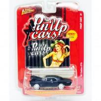 Imagem - Pontiac: GTO (1966) - Preto Fosco - Pin UP Cars R1 - 1:64 - Johnny Lightning