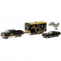 Imagem - Pontiac: Trans AM (1980) / Chevrolet: Silverado (2015) c/ Trailer - Smokey and the Bandit II - Hitch & Tow Hollywood - Series 1 - 1:64 - Greenlight