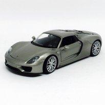 Imagem - Porsche: 918 Spyder - Cinza Metálico - 1:24 - Welly
