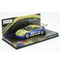 Imagem - Porsche: GT3 RSR #3 - Land Motorsport - 24h ADAC Nürburgring (2008) - 1:43 - Minichamps