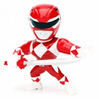 Imagem - Boneco Red Ranger M400 - Mighty Morphin Power Rangers - Metals Die Cast - Jada Toys
