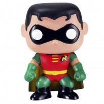 Imagem - Boneco Robin - Super Heroes - DC Comics - Pop! Heroes 02 - Funko