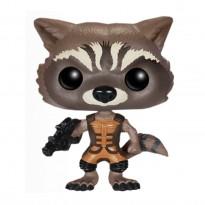 Imagem - Boneco Rocket Raccoon - Guardiões da Galáxia - Pop! Marvel 48 - Funko