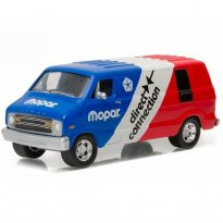 Imagem - Dodge: B100 Van (1976) - Blue Collar Collection - 1:64 - Greenlight
