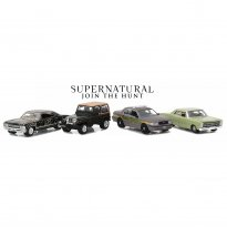 Imagem - Four Car Collectors Set - Supernatural Join The Hunt - Series 5 - 1:64 - Greenlight