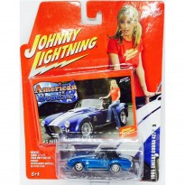 Imagem - Ford: Shelby Cobra 427 (1965) - Azul - American Beauties - 1:64 - Johnny Lightning