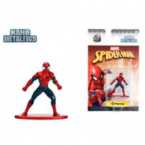 Imagem - Boneco Spider Man MV1 - Spider-Man - Nano Metalfigs - Jada Toys