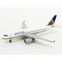 Imagem - United Airlines: Airbus A320 - 1:400 - Gemini Jets