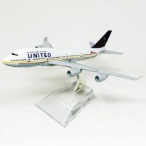 Imagem - United Airlines - Boeing 747 - HB Toys