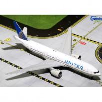 Imagem - United Airlines: Boeing 777-200ER - 1:400 - Gemini Jets