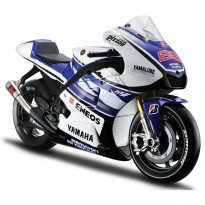 Imagem - Yamaha: YZR M1 Factory Racing - Jorge Lorenzo - #99 - MotoGP 2012 - 1:10 - Maisto
