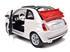 Fiat: 500C Cabriolet - Branco - 1:24