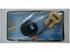 Miniatura de Violão Acústico Pequeno - Marrom (Blister) - 12cm