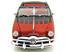 Ford: 1949 Conversível - Preto/Vermelho - 1:18 - Maisto