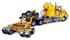 Kenworth: T908 Prime Mover with Drake 2 x 8 Dolly and 4 x 8 Swingwing - Amarelo - 1:50