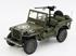 Jeep Willys: Military Vehicle US Army (1942) - Verde - 1:18