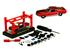 Ford: Mustang GT Cobra Jet (1968) - Kit Montar - Vermelho - 1:64 - M2 Machines