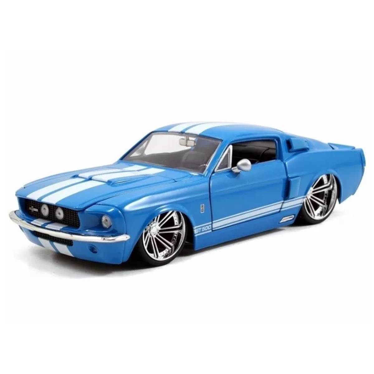 Ford Mustang Shelby Gt 500 1967 1 24 Jada Minimundi Com Br