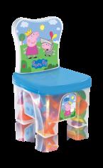 Imagem - Cadeira infantil com 40 peças Educa Kids Peppa - Peppa Pig