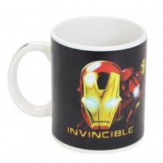 Imagem - Caneca Mágica 300ML Avengers Iron Man - Homem de Ferro