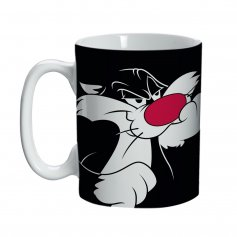 Imagem - Caneca Mini Porcelana Sylvester Frajola - Looney Tunes