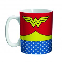 Imagem - Caneca Mini Porcelana Wonder Woman Body Customs - Mulher Maravilha