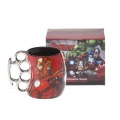Imagem - Caneca soco inglês 350 ML - Iron Man
