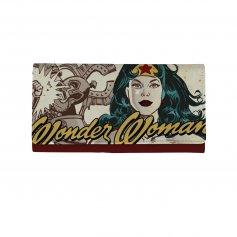 Imagem - Carteira PU Com Alça Modern Wonder Woman Face Vintage - Mulher Maravilha