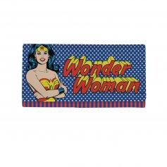 Imagem - Carteira PU Com Alça Wonder Woman Stars Azul - Mulher Maravilha