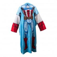 Imagem - Cobertor com mangas infantil - Capitão América