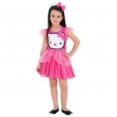 Imagem - Fantasia Infantil Feminina Vestido - Hello Kitty