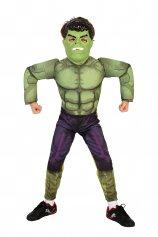 Imagem - Fantasia Infantil Hulk Vingadores da Marvel com máscara - Hulk