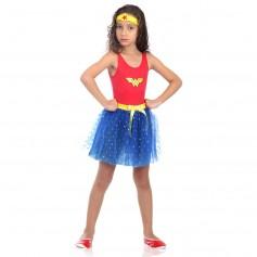 Imagem - Fantasia Infantil Wonder Woman Dress Up - Mulher Maravilha