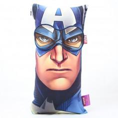 Imagem - Kit Almofada visco + máscara  - Capitão América