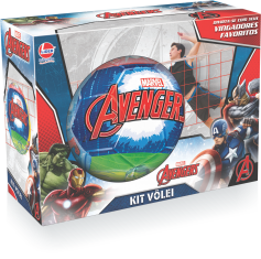 Imagem - Kit Vôlei Marvel Avengers - Os Vingadores