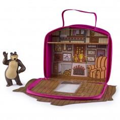 Imagem - Maleta Casa do Urso com personagem Masha and the Bear - Masha e o Urso