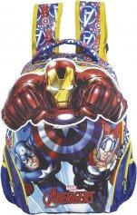 Imagem - Mochila Escolar Infantil G Avengers Action - Os Vingadores