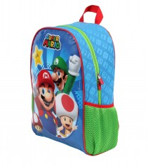 Imagem - Mochila Escolar Infantil G Nintendo - Super Mario Bros