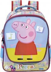 Imagem - Mochila Escolar Infantil G Peppa Hora da Brincadeira - Peppa Pig