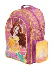 Imagem - Mochila Escolar Infantil G Princesas Disney - A Bela e a Fera