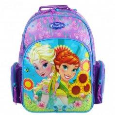 Mochila Escolar Infantil M Disney Frozen Summer - Frozen